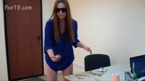 Secretary Milana crapped in panties (from Poo19.com) $21,99 (Premium user request) by MilanaSmelly