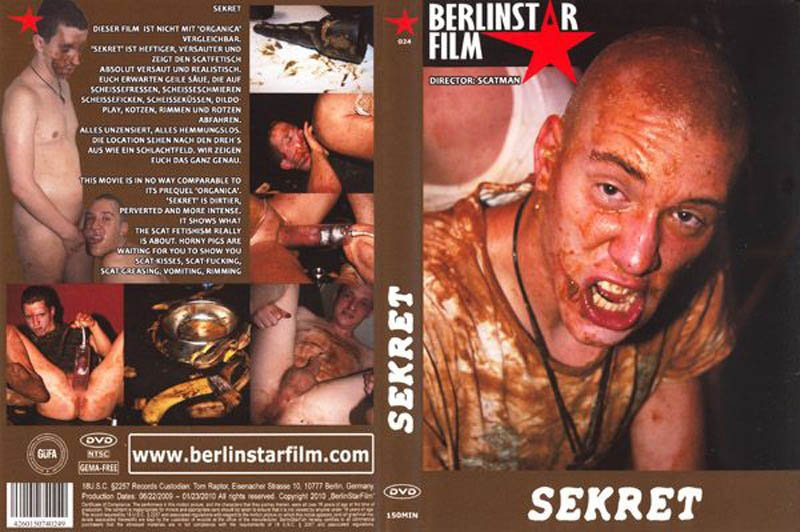 Sekret – Scatman Berlin Star Film – Gay Scat, Oral, Anal, Fetish, Fisting, Toys, Dildo, Bareback