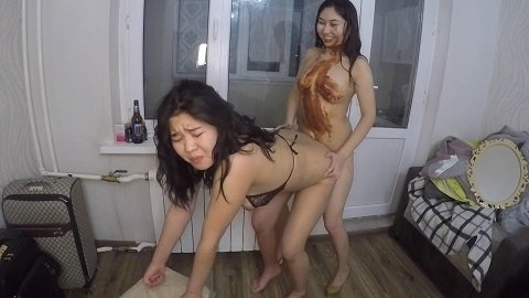 Ass to mouth Lesbian scat show (06.02.2021) 99,99$ (Premium Request) by Asiansteppe