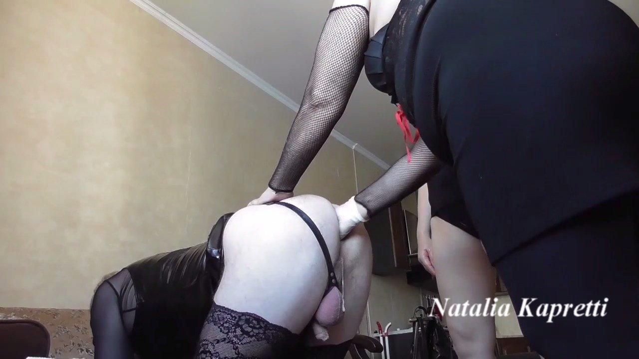 Natalia Kapretti – Double shit, eat it faggot, bitch, shiteater
