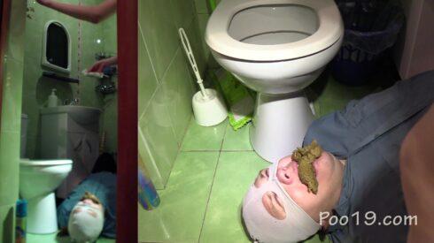 Erotic toilet slavery 2. Mega heap! 00001