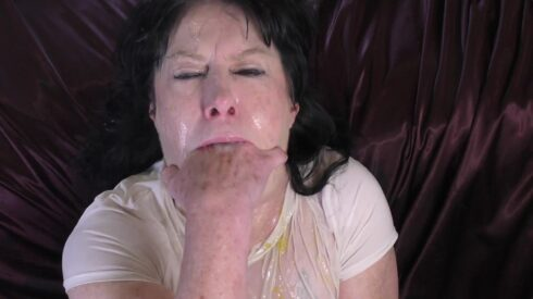 Wet n Messy Gagging 2 - Dirtygardengirl 00001