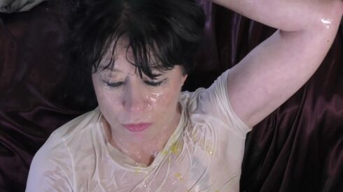 Wet n Messy Gagging 2 - Dirtygardengirl 00003
