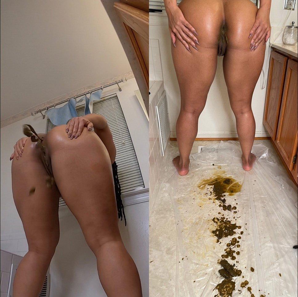 Diarrhea explosion starring in video Brownsensations ($14.99 ScatShop) – Enema