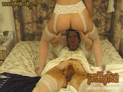 PRETTYLISA – BROWN WEDDING NIGHT starring in video Prettylisa, Lady St. Claire, 1 male