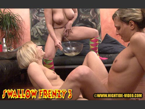 SWALLOW FRENZY 3 starring in video Taranee, Sidney Love, Paris Pink