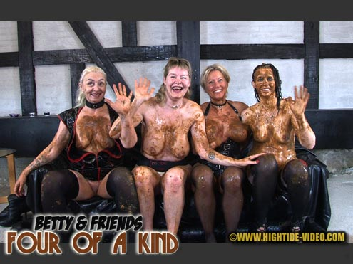 FOUR OF A KIND starring in video BETTY & FRIENDS