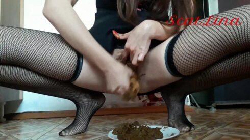Eat Shit And Fuck Myself - ScatLina 00001