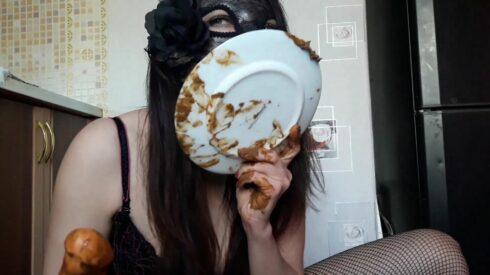 Eat Shit And Fuck Myself - ScatLina 00002
