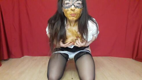 I Eat Shit From Panties - ScatLina 00001