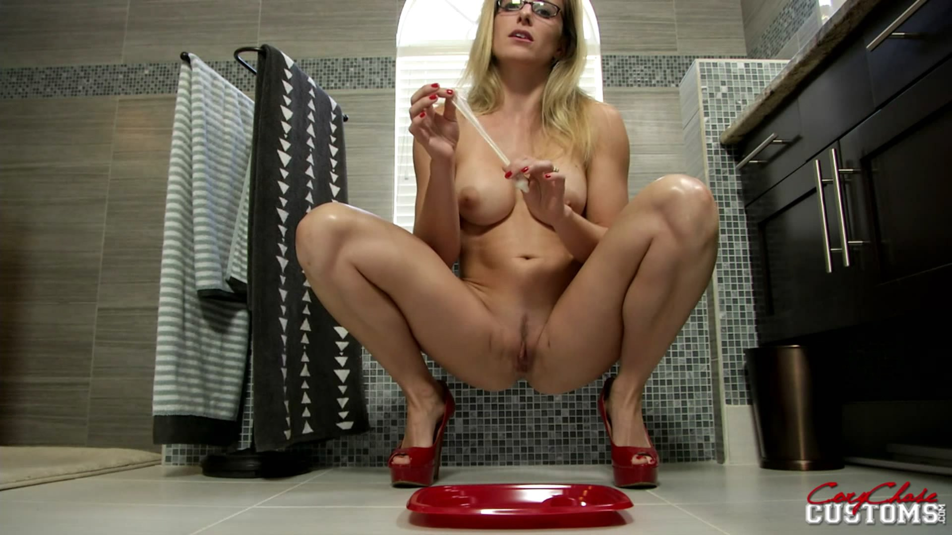 Cory Chase Pooping