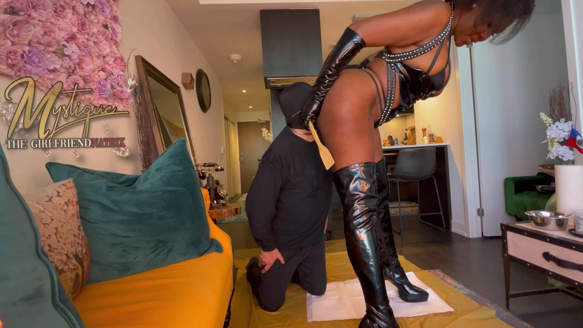 Diva Feeds The Pig starring in video MistressMystique ($54.99 ScatShop) –  Toilet Slavery