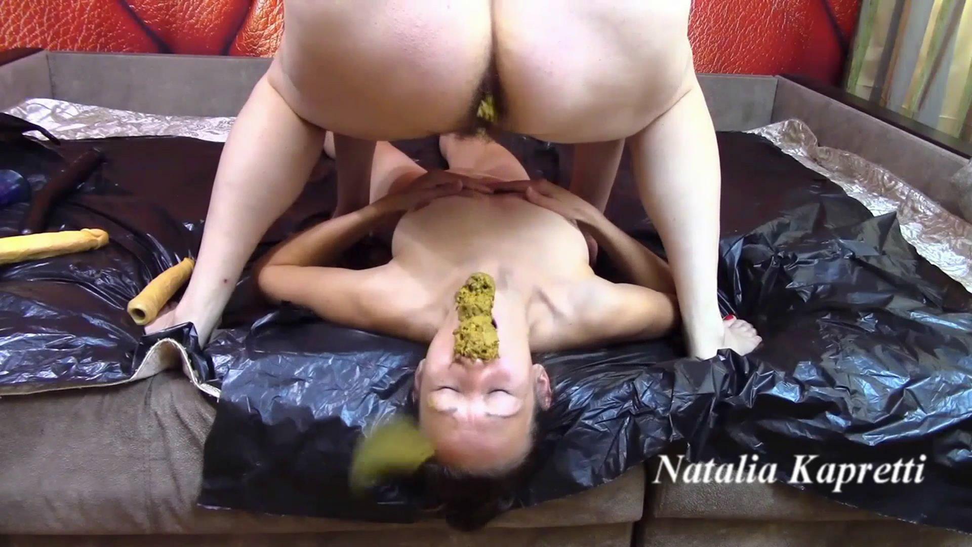 Incredible dirty scat sex with toilet slavegirl starring in video Mistress/Natalia Kapretti ($39.99 ScatShop)