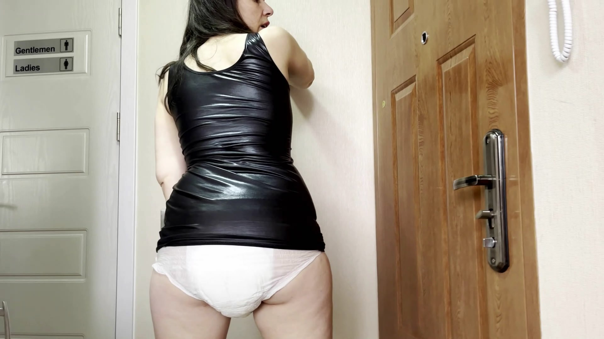 My Messy Diaper 4 U starring in video thefartbabes ($13.99 ScatShop) –  Diapers/ABDL
