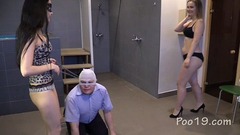 """""""Doggy"""" liking girl's shit (30.06.2021) 29$ by MilanaSmelly"""