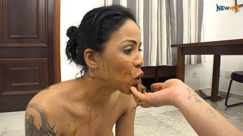 Shit on your face (newmfx.com) Jaqueline, Isabel