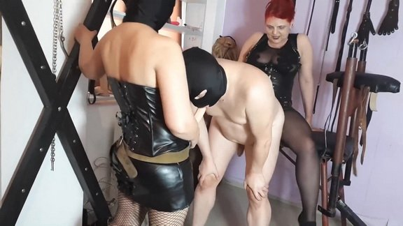 Goddess Andreea and friend dirty poo humiliation ($14.99 ScatShop)