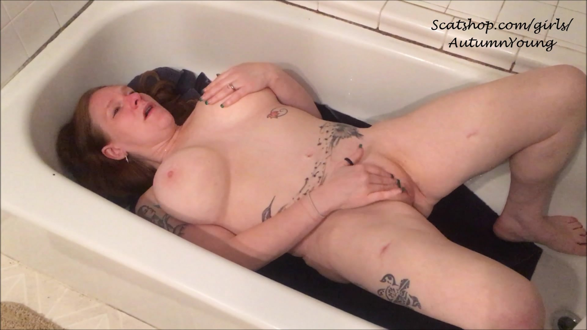 DADDY-Shit On ME So I Can CUM-PLEASE starring in video AutumnYoung ($9.99 ScatShop) – Toilet Slavery