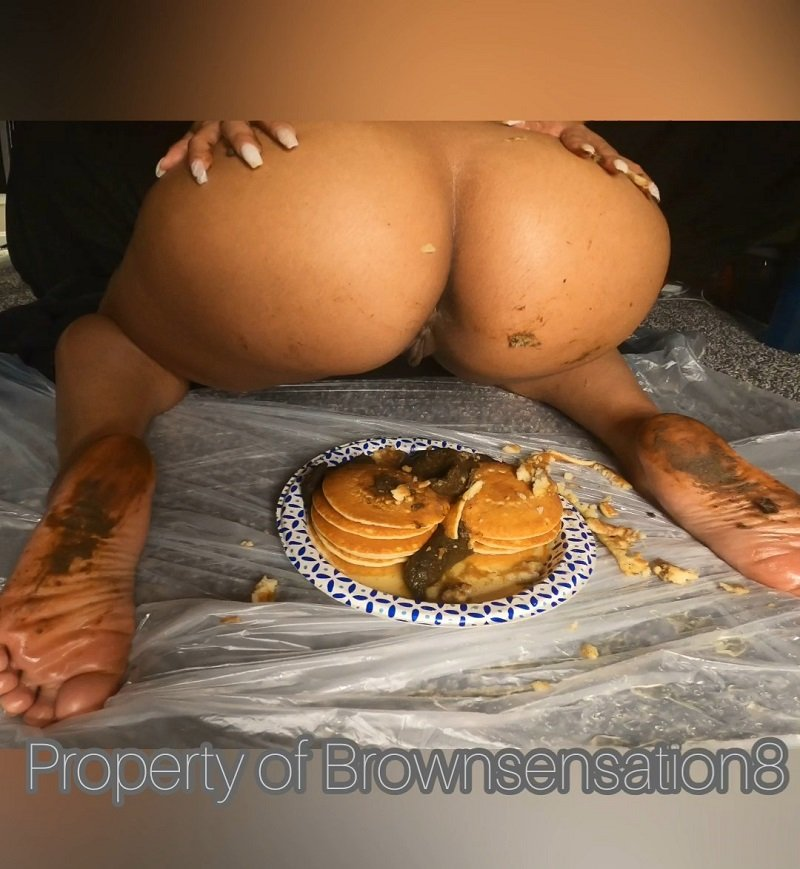 Brownsensations – Pancakes Topped off With Poop