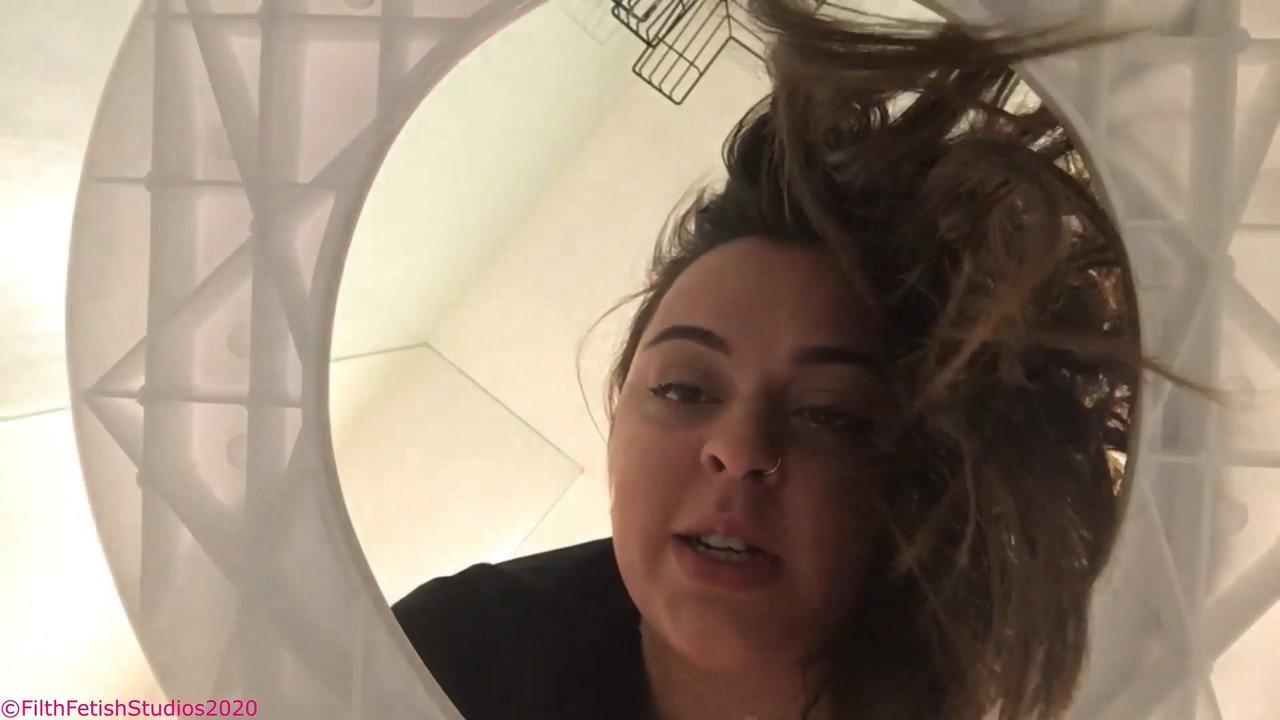 Goddess Allie James – Broken Toilet Human Toilet-Part1