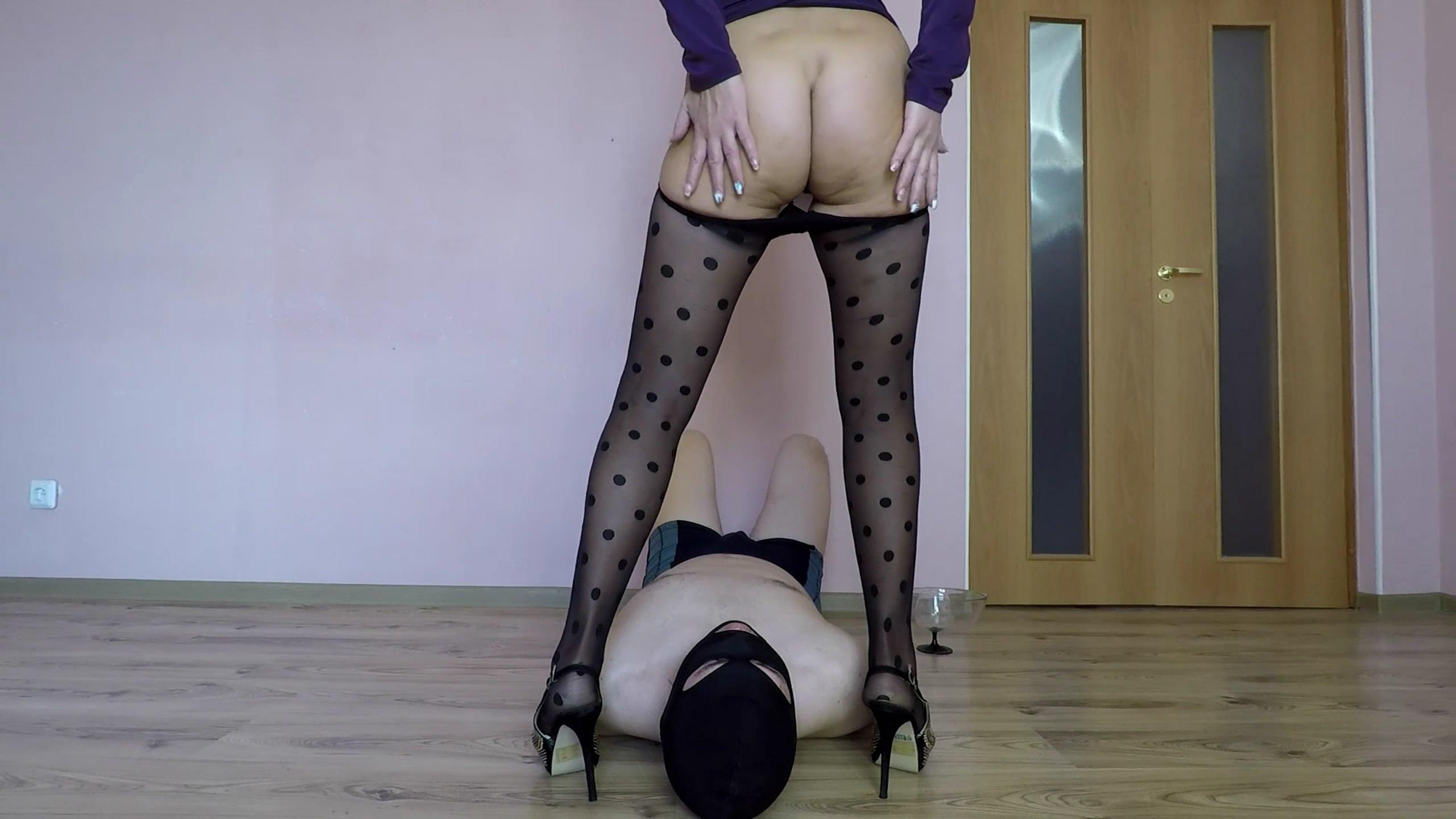 Mistress Shit for You starring in video  scatdesire ($13.99 ScatShop) – Toilet Slavery