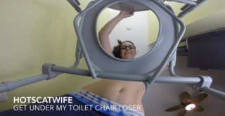 Get under my toilet chair Loser! - 1