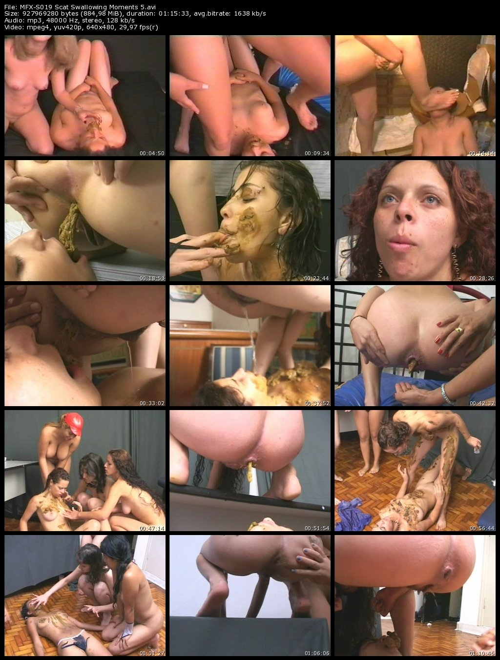 Scat Swallowing Moments 5