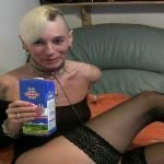 Drinking milk then and puking all over her face – Special FHD Porn (1080p)