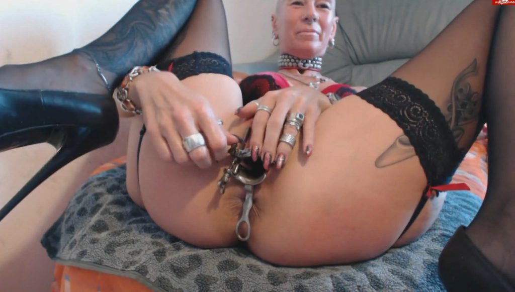 Speculum show - Lady-isabell666 - Exlusive Video - 2